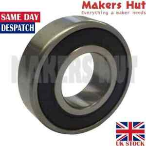 6201 2RS 12mm x 32mm x 10mm Shielded Deep Groove Ball Bearing 6201RS