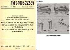 Rifle, M1 W/E, M1C, M1D (Snipers) Depot Maint Manual- DO Army