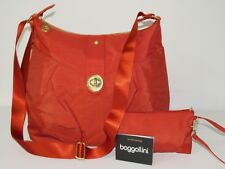 Baggallini Helsinki Crossbody Shoulder Bag Water-resistant Nylon w/ Wrislet NEW