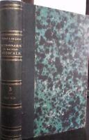 Diccionario Material Médico F. V. Mérat 1831 París Baillière Tomo 3 ABE
