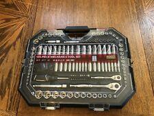 Husky Mechanics Tool Set 135-Piece Clear Case