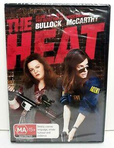 The Heat DVD 2013 PAL Region 4 Sandra Bullock Melissa McCarthy BRAND NEW SEALED