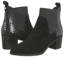 Women's Dune Oprentice Pointed Toe Ankle BOOTS in Black UK 4 / EU 37