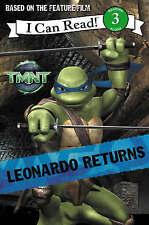 Leonardo Returns: I Can Read! 3 (Teenage Mutant Ninja Turtles), , New Book