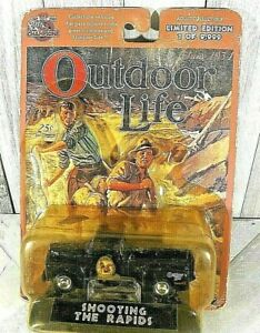"""Racing Champions Outdoor Life """" Shooting the Rapids """" Diecast  1999"""