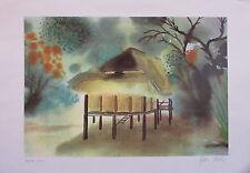 Landschaft - Bild signiert datiert 1984 nummeriert 57/59