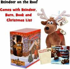 Reindeer On The Roof - Brings Your Child's Christmas List Directly to Santa, NEW