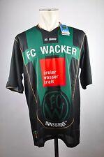 2011-12 FC Wacker Innsbruck Trikot Home Gr. XL Jako Österreich grün FCW