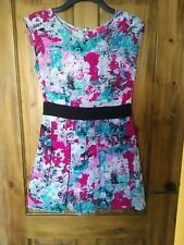 G21 Vibrant Retro Style Party Dress size 12 by George