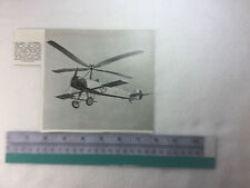 early Autogiro aircraft 1926? R.A.C. Brie period vintage item