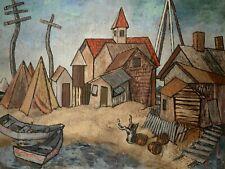 Stewart Wheeler, Listed Artist Oil on Canvas Signed 22 x 28  Pennsylvania Artist