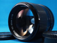 <<Excellent++++>> Canon New FD 85mm f/1.8 Portrait MF lens From Japan #099
