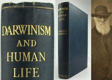 Charles Darwin - 1909-Darwinismus & Menschenleben * Evolution * Südafrika ** 1st Edition **
