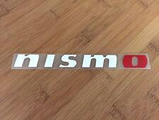 Nismo JDM vinyl 2 color sticker decal racing performance GTR Z car truck Japan