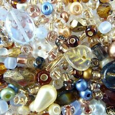 Faraway Fusion Bead Mix : Sunset In The Arctic contains approx 250 beads