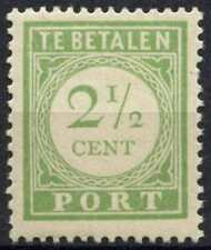 Curacao 1937 SG#D96a 2.5c Green Postage Due P13.5x12.5 MH #E12058