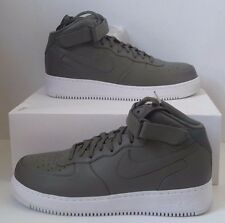 Nike NikeLab Air Force 1 Mid Sz 14 Urban Haze Olive Green Grey White 819677-300