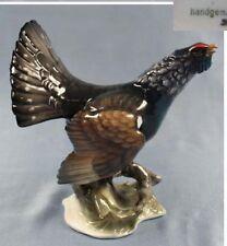 Auerhahn Vogel Vogelfigur porzellanfigur Heidenreich Rosenthal figur porzellan b