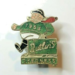 Butlins Skegness 1953 Enamel Badge Green Version