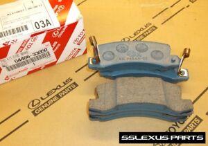 Lexus RX300 (1999-2001) OEM Genuine REAR BRAKE PADS / PAD SET 04466-33050
