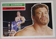 Eddie Guerrero WWE 2005 Topps Heritage Card #38 Wrestlemania Superstar New Japan