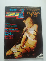POPULAR 1 No 94 1981*PLASMATICS WENDY O*Punk*SPAIN MAG*Motorhead*GENERATION X