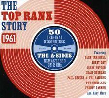The Top Rank Story 1961 2-CD NEW SEALED Bobby Day/John Leyton/Freddy Cannon+