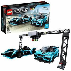 LEGO Speed Champions Formula E Panasonic Jaguar Racing 76898 Building Kit 565pcs