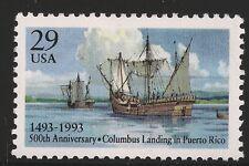 US Scott #2805, Single 1993 Columbus 29c VF MNH