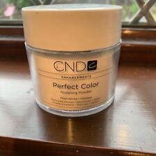 CND Enhancements Perfect Color Sculpting Powder Pure White Opaque 104g (3.7 oz)
