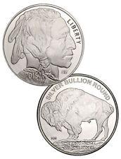 1 oz American Silver Buffalo round 1 Troy oz 999. Silver round