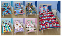 Disney  & Kids TV Character Single Quilt Duvet Cover Bedding Brand New Gift