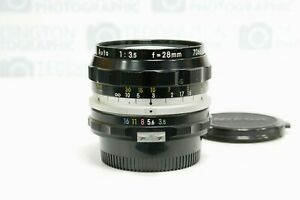 Nikon Nikkor-H 28mm f3.5 Pre-Ai