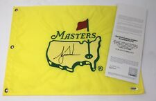TIGER WOODS Autographed 1997 Authentic Original Masters Tournament Flag UDA