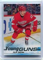 2019-20 UPPER DECK SERIES 2 FILIP ZADINA YOUNG GUNS DETROIT RED WINGS RC