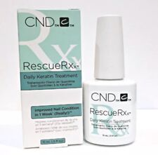 Cnd Rescue Rxx Daily Keratin Treatment .5oz Strengthen Restoring Weakened Nails
