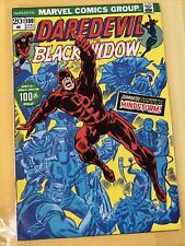Marvel Daredevil #100 Vf (1973) 1st Angar the Screamer Appearance, Black Widow