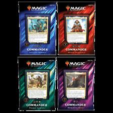 Comandante de recopilación de Magic THE Caja de 4 Mazos Preventa 2019 Nuevo
