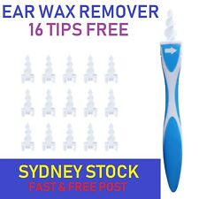 AU New Soft Ear Wax Cleaner Removal Multi earwax Remover Spiral Safe Tip Tool AU