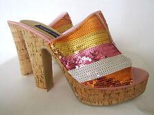 High (3-4.5 in.) Block Geometric Heels for Women