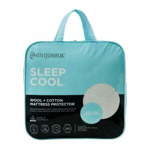 Sleep Cool Australian Made Mattress Protector by MiniJumbuk