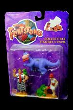 The Flintstones Movie Collectible PVC Figures 3 Pack Mattel 1993 Fred Wilma Dino