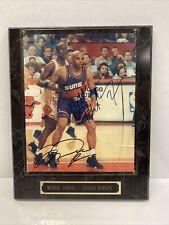 New listing Michael Jordan/Chicago Bulls & Charles Barkley Autographed Framed Photo w COA