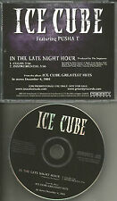 ICE CUBE w/ CLIPSE In the Late Night Hour INSTRUMENTAL &CLEAN PROMO DJ CD single