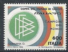 1990 ITALIA GERMANIA CAMPIONE DEL MONDO CALCIO MNH ** - ED