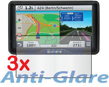 3x Anti-glare LCD Screen Protector Garmin Nuvi 2797 2797LT 2797LM 2797LMT GPS 7""