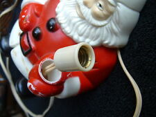 Must See Royal Bubble Light Santa or Snowman C-7 Replacement Light Socket & Cord