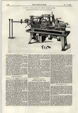 1897 First Operation Hub Machine Warner Swasey Cleveland's London Tilbury