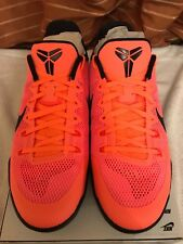 Nike Kobe Xl Homme Basketball Baskets Brand New in Box UK 9 Bright Mango