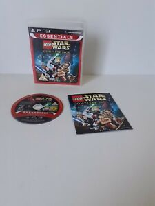 SONY PS3 GAME LEGO STAR WARS THE COMPLETE SAGA WITH MANUAL PLAYSTATION 3